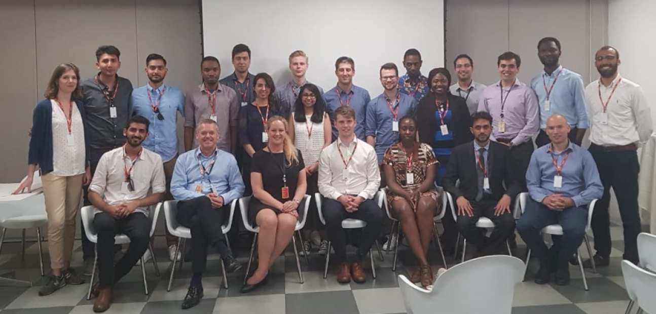 MSc Petroleum Engineering students in Shell Brazil