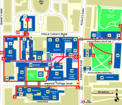 Map of South Kensington Campus