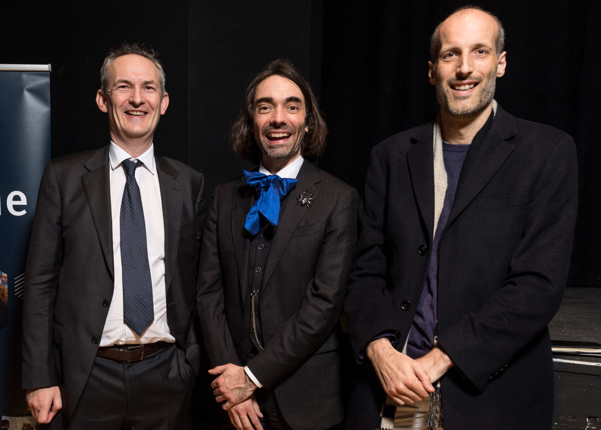 Fields Medal winner Professor Martin Hairer (right) at launch of joint mathematics laboratory with CNRS
