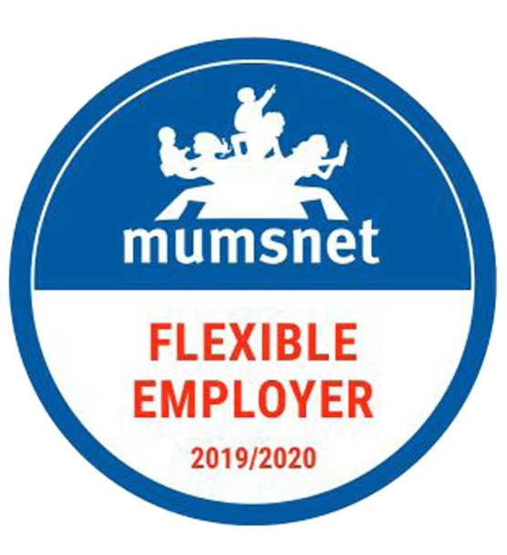 Mumsnet Flexible employer logo