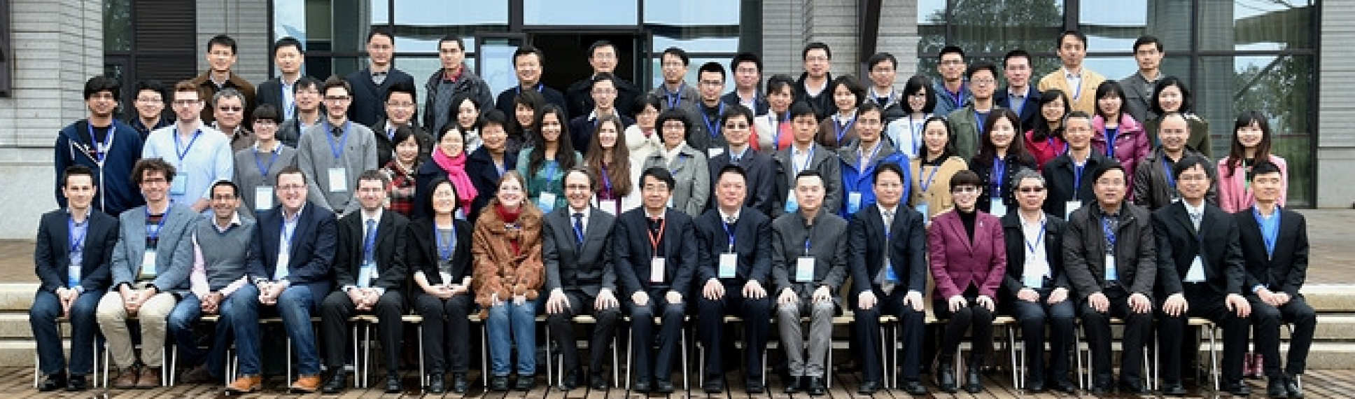 Group of academic researchers at joint CPE-Nanjing Tech workshop on plastic electronics