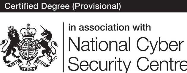 Certified Degree (Provisional) in association with National Cyber Security Centre