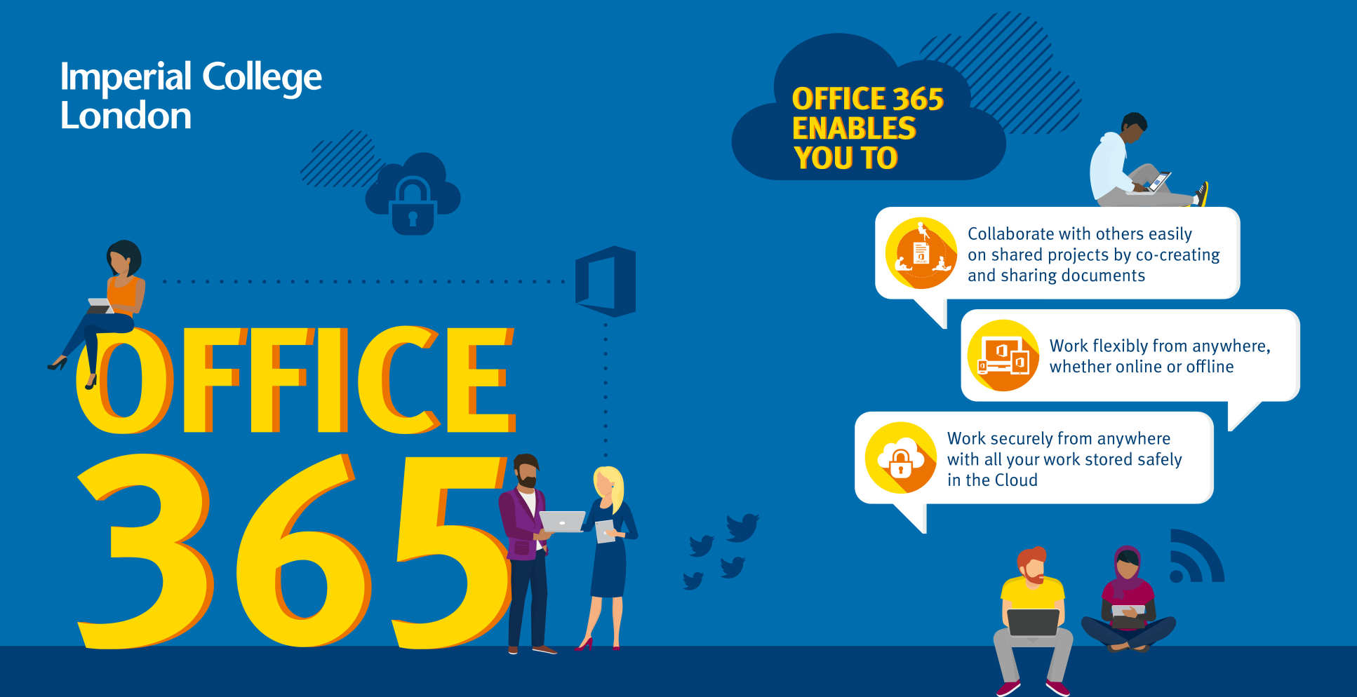 Office 365 enables you to