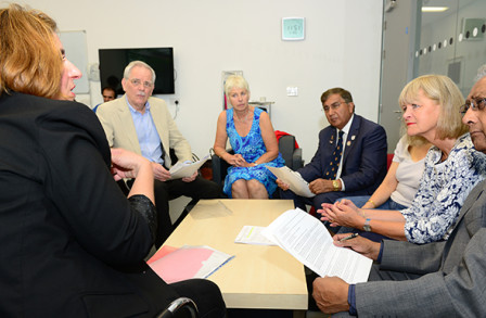 A patient discussion group at the Patient Experience Research Centre