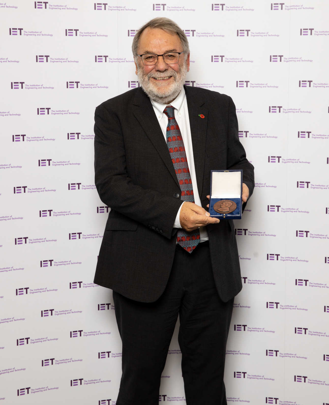 Peter Knight at IET awards