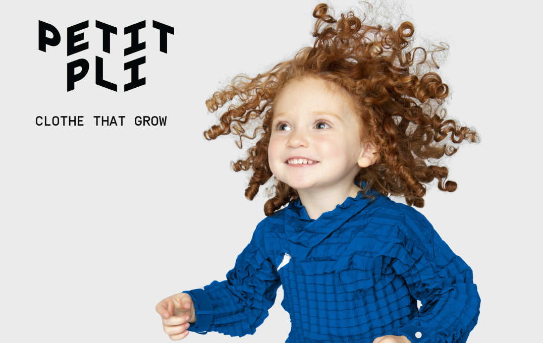Petit Pli creates clothes that grow with your child, so that one outfit can continue to fit a growing child for over 3 years. The project aims to reduce the waste generated by the fashion industry and it uses streamlined manufacturing process, as well as encouraging future generations to consume intelligently.