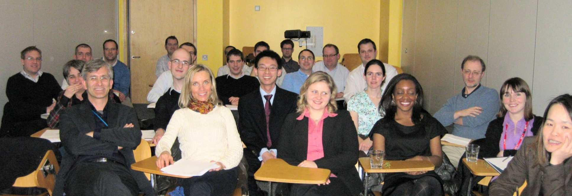 Participants of an update meeting, February 2011