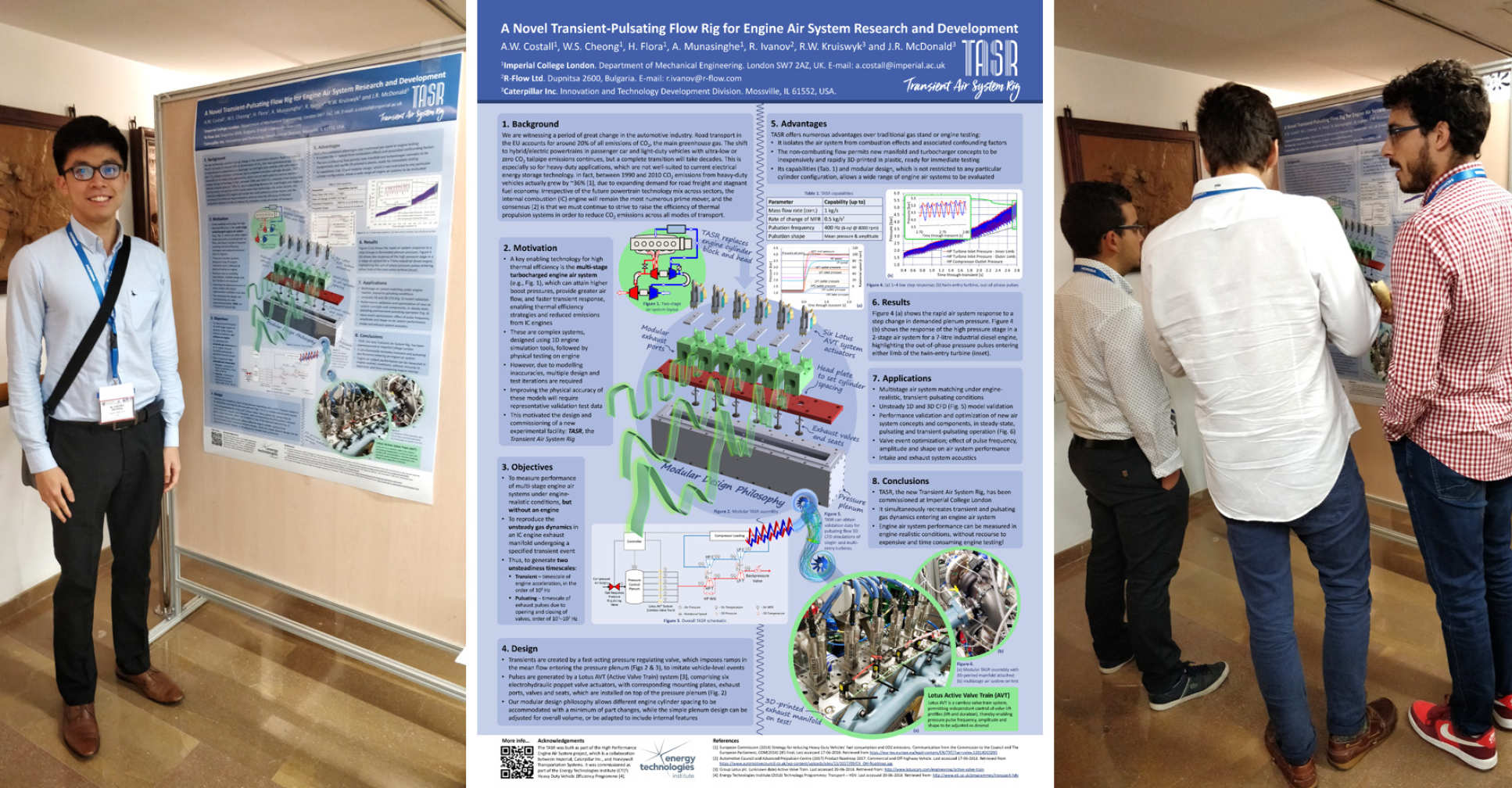 Poster session at THIESEL 2018