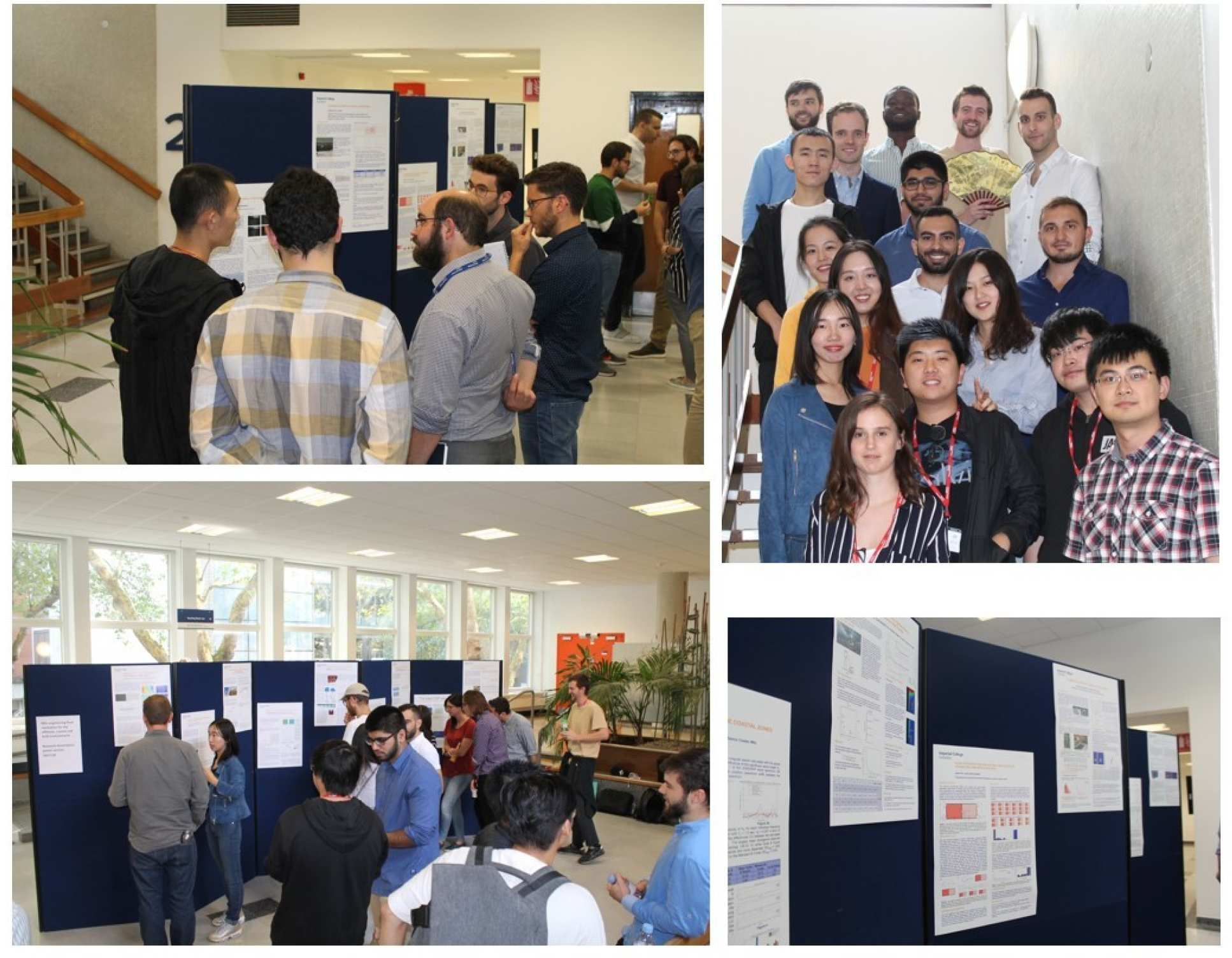Photos from the 2017-18 poster session
