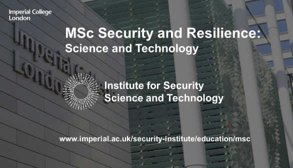 MSc security and resilience