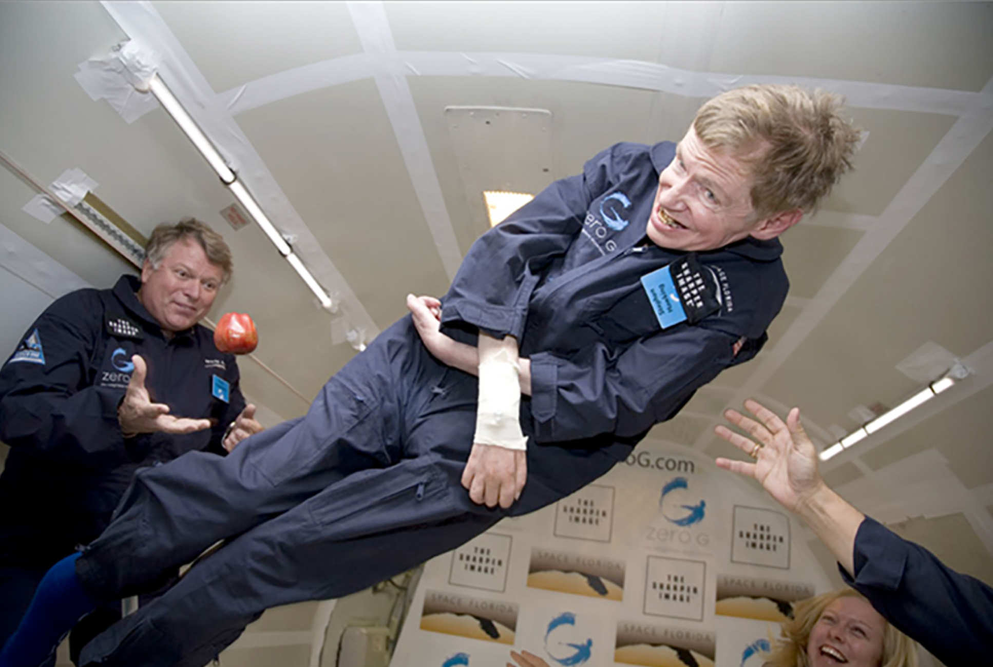 Professor Chilvers was also personal physician to renowned physicist Professor Stephen Hawking, traveling with him on his 2007 'zero gravity' flight.
