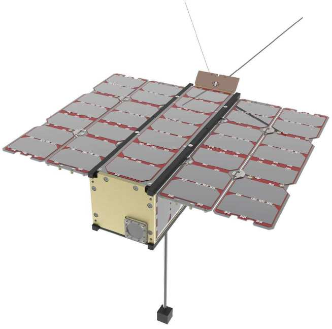 The RadCube CubeSat