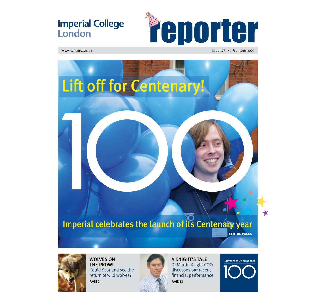 Issue 173 - 7 February 2007