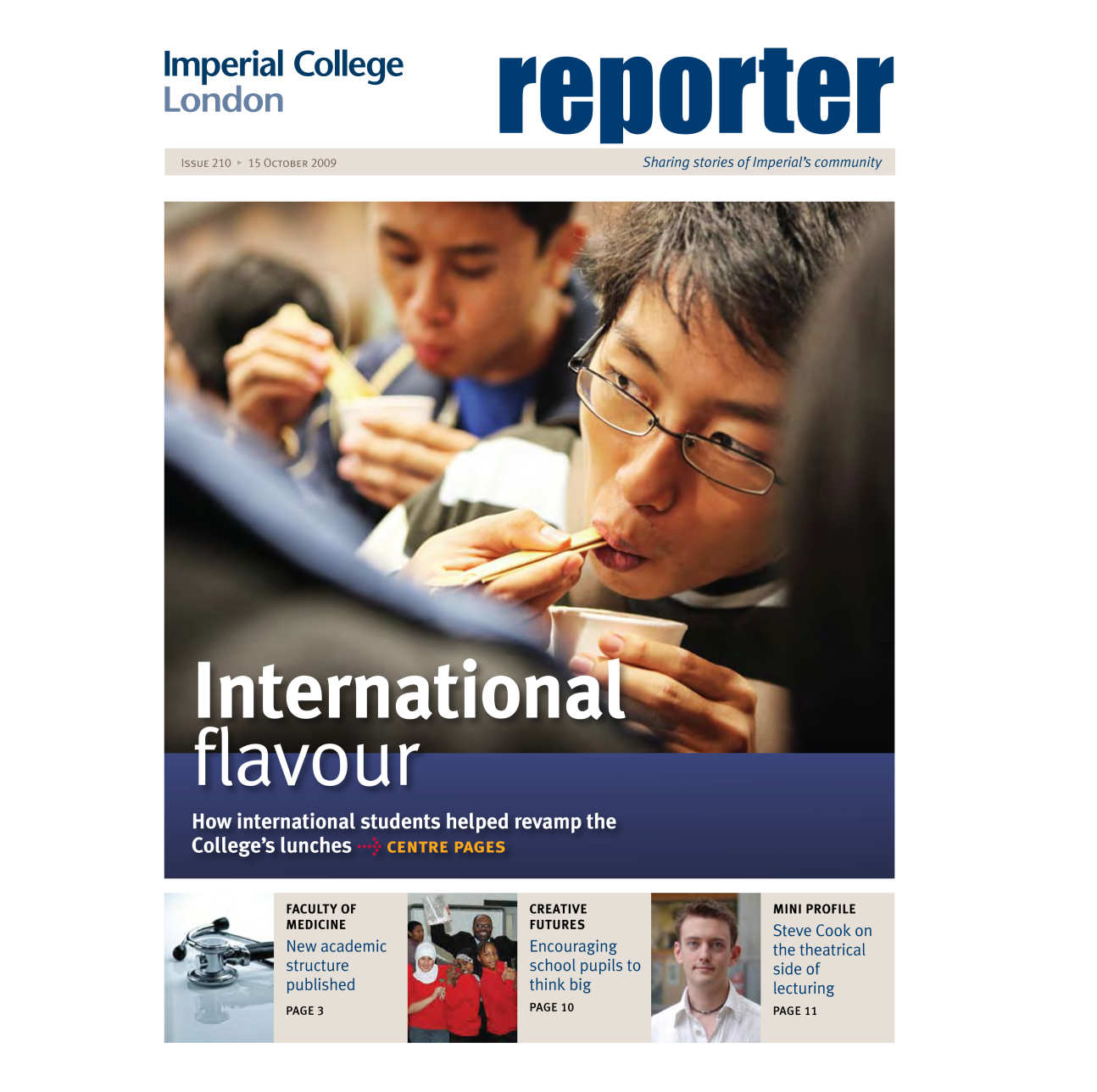 Issue 210 - 15 October 2009