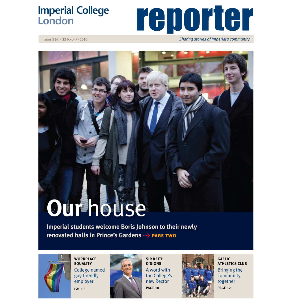 Issue 214 - 22 January 2010