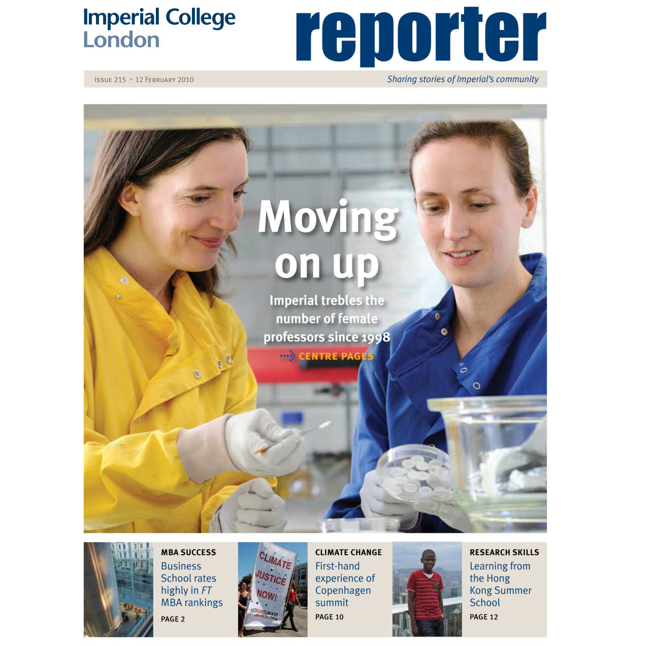 Issue 215 - 12 February 2010
