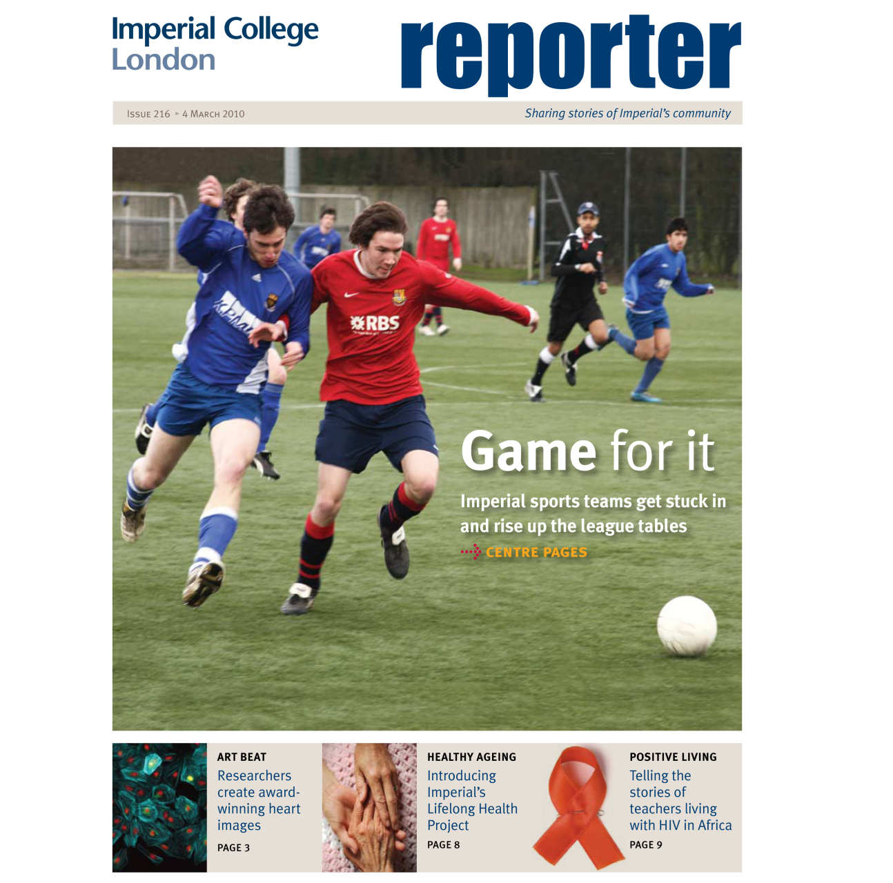 Issue 216 - 4 March 2010