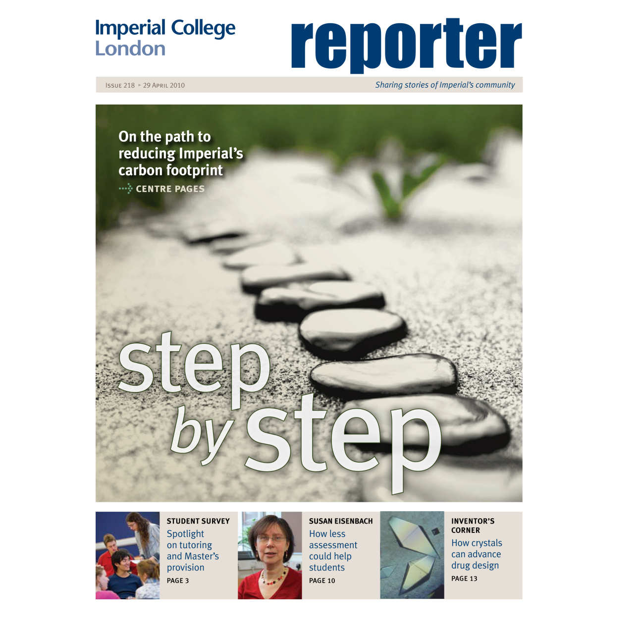 Issue 218 - 29 April 2010