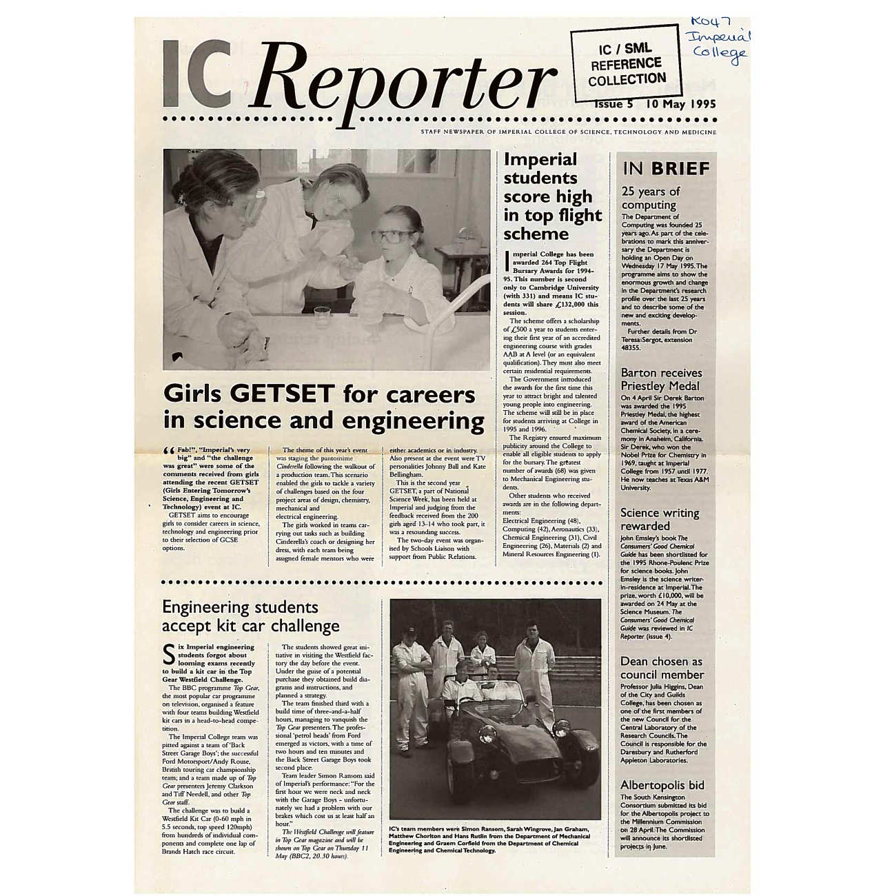 Issue 5, 10 May 1995
