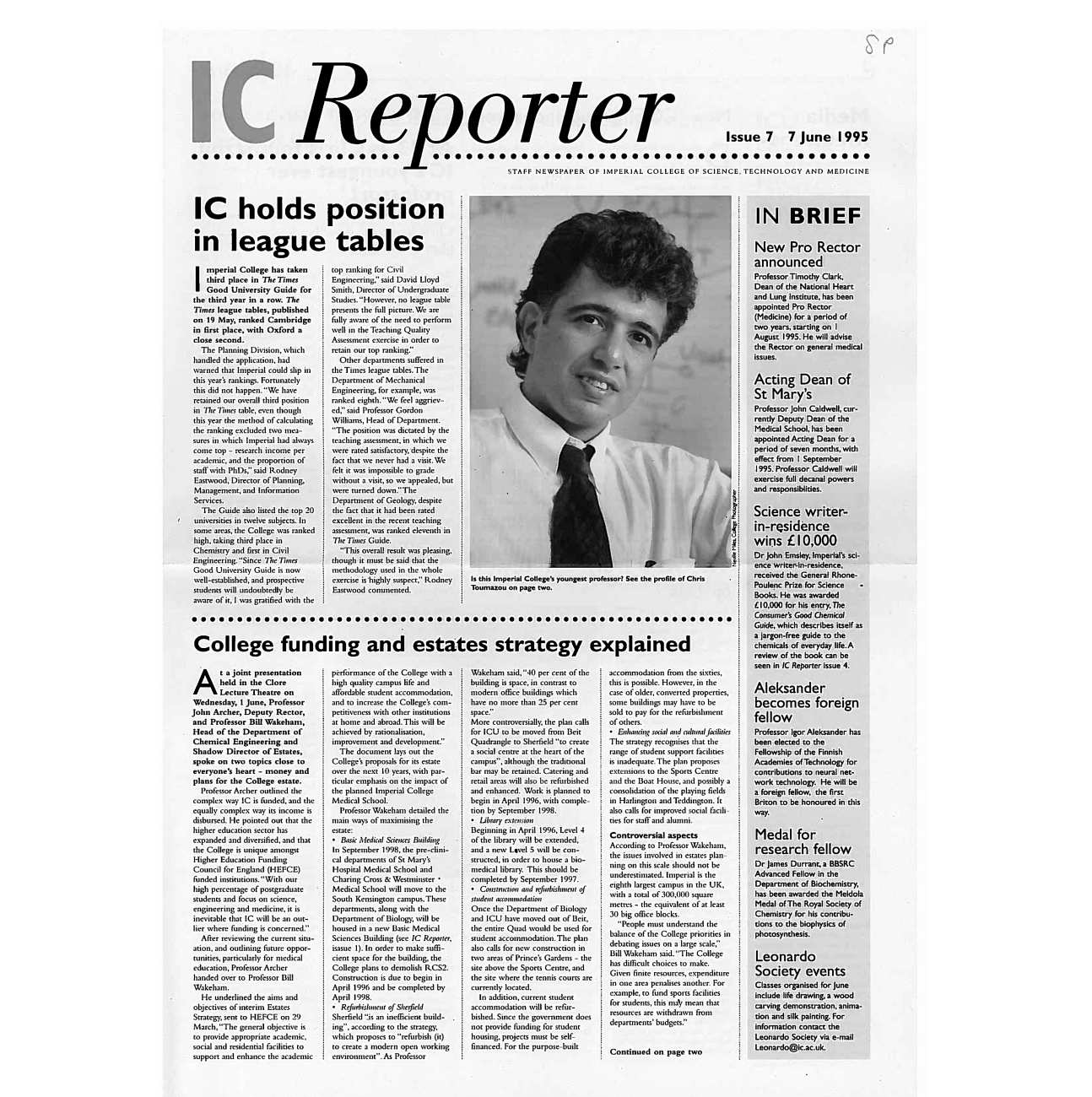Issue 7, 7 June 1995