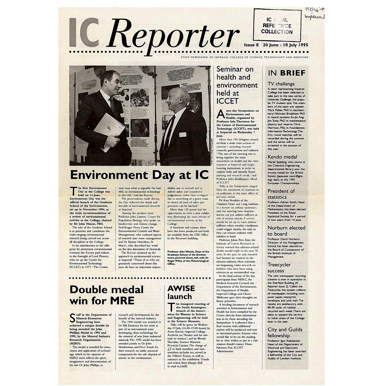 Issue 8, 20 June - 10 July 1995