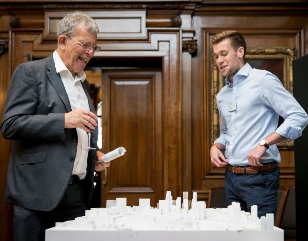 Chris Skidmore meets with White City External Affairs Officer Dan West