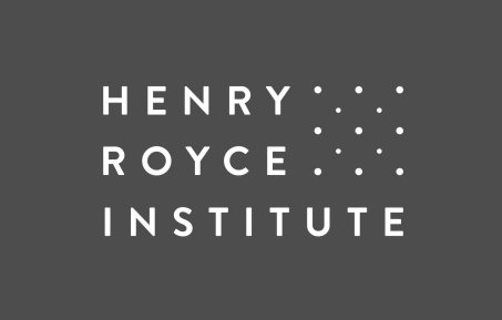 An image of the Henry Royce Institute logo