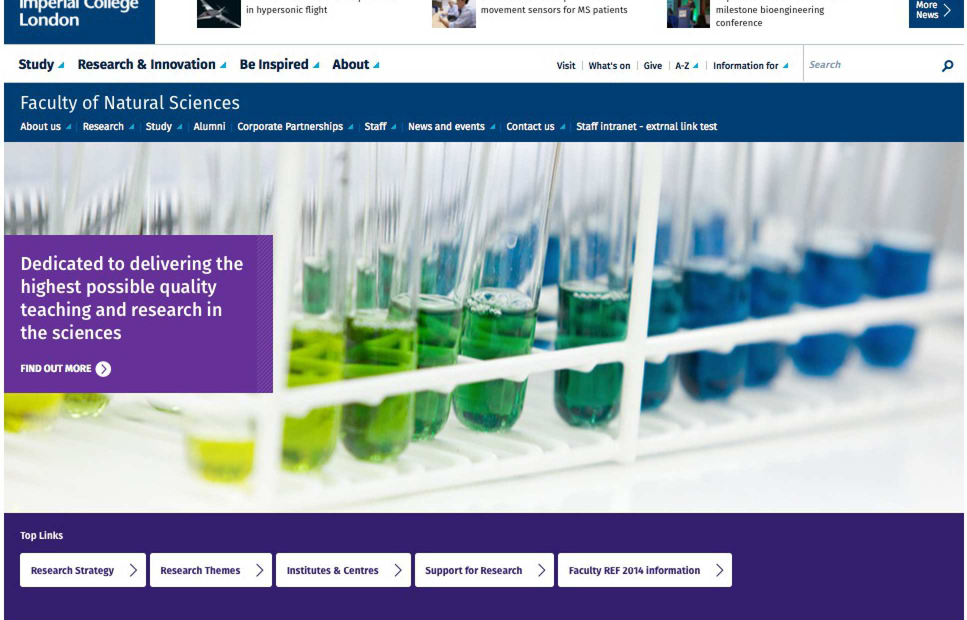 Choosing the right template staff imperial college london landing page left block pronofoot35fo Choice Image