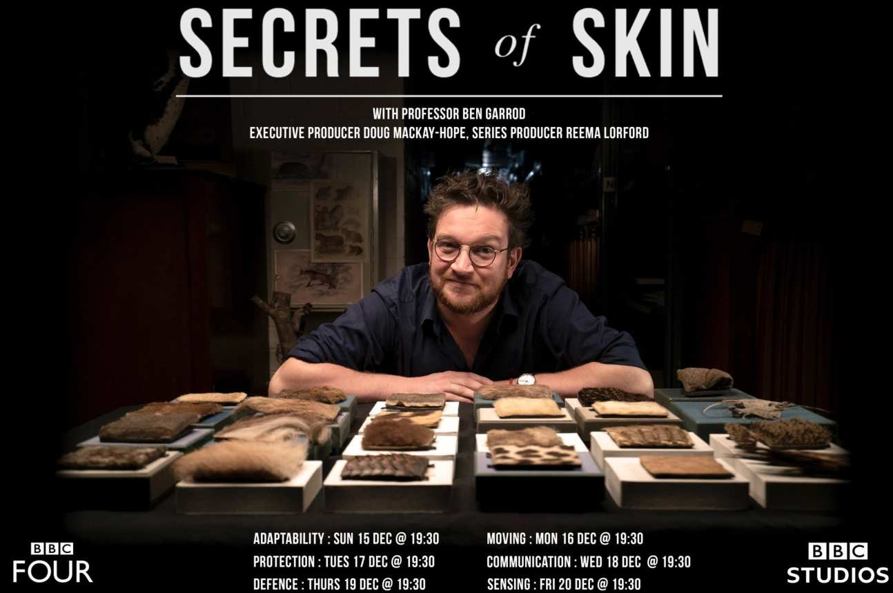 Secrets of Skin BBC promotional image