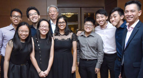 Alumni gather in Singapore for the 40th anniversary of the ICAAS