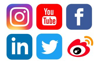 Social media iconsSocial media icons: Instagram, YouTube, Facebook, LinkedIn, Twitter, Weibo