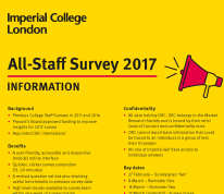 Staff Survey Info Poster