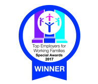 Working families - Top 30 employer logo