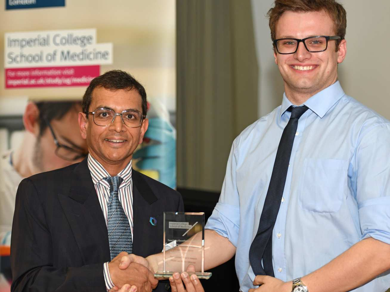 Professor Karim Meeran's dedication to the School was recognised with the Associate Dean's Award