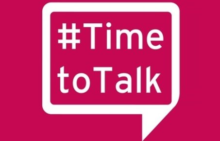 logo reads Time to Talk
