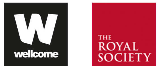 Funders - Wellcome Trust and Royal Society