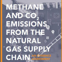 Methane and CO2 Emissions from the natural gas supply chain