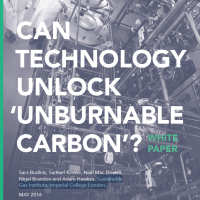 Can technology unlock 'unburnable carbon'?