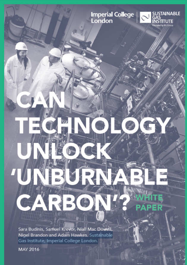 White Paper 2: Can technology unlock unburnable carbon?