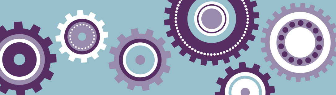 Pale purple cogs image