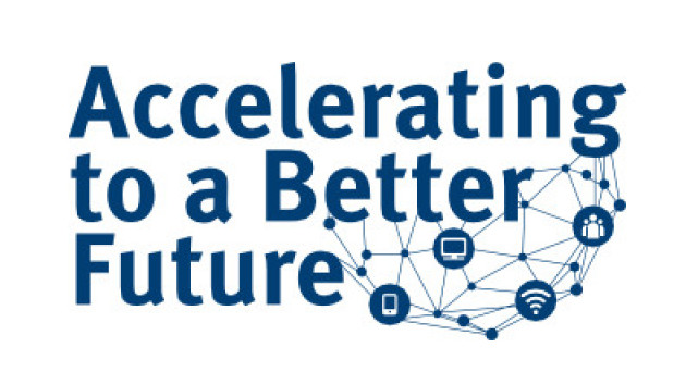Accelerating to a Better Future logo