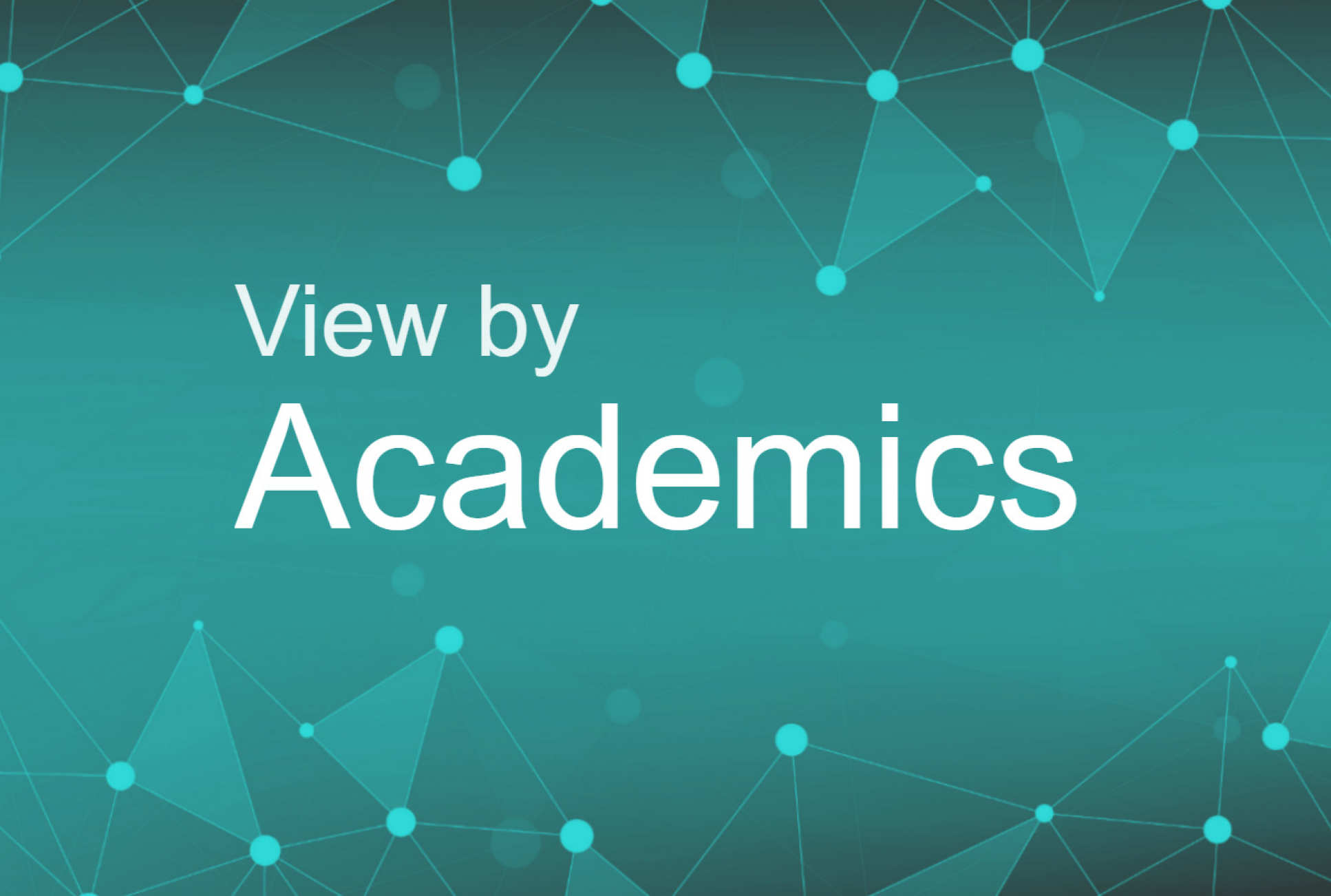Research network by academics