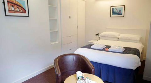 Bed and Breakfast accommodation South Kensington