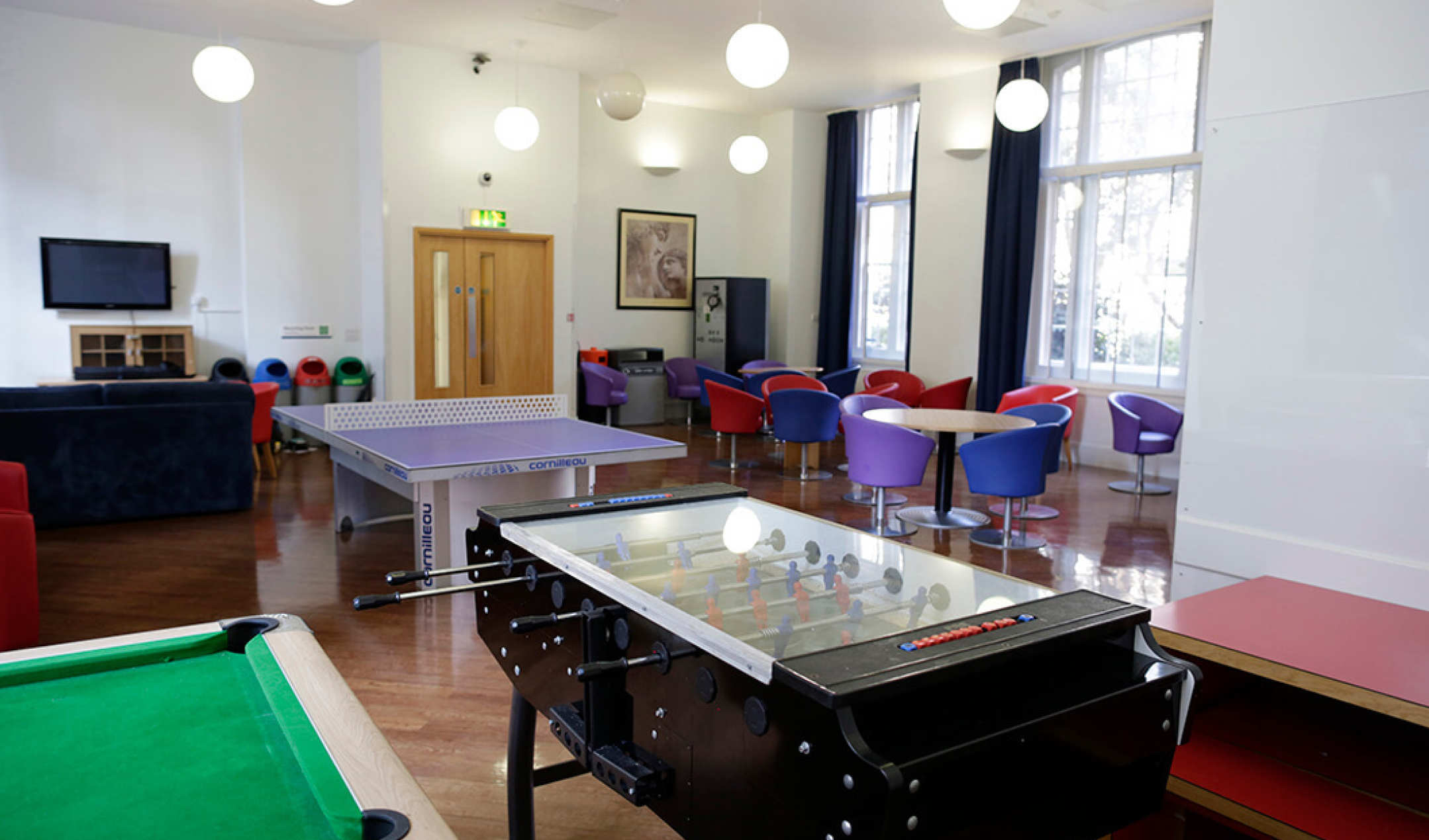 Beit Hall common room in South Kensington