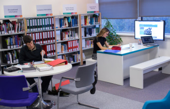 The Careers Service Library and information room