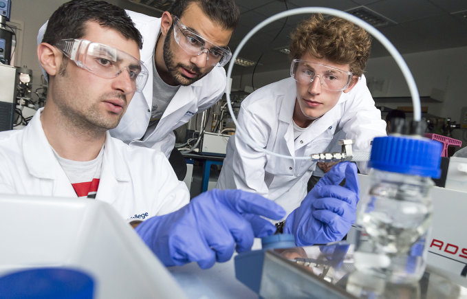 Energy research at Imperial College London