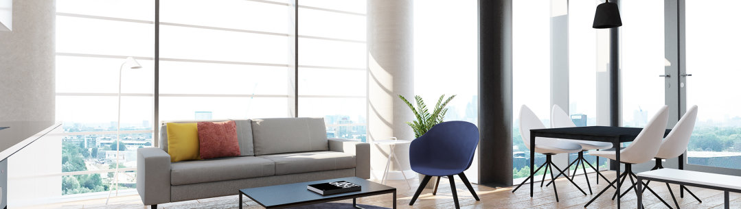 Cgi Of The One Bedroom Apartment At Wood Lane
