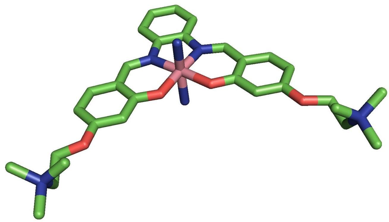 CGI of a molecule