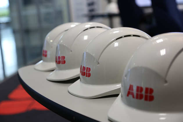 Hard hats in the control room