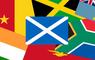 Commonwealth country flags